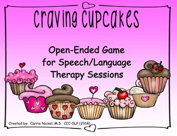 Open-Ended Speech & Language Cupcake Game
