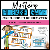 Open Ended Speech and Language Tile Game {Back to School}