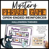 Open Ended Speech and Language Tile Game {Halloween}