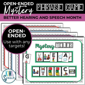 Open Ended Tile Game: Better Hearing and Speech Month BHSM