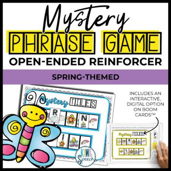 Open Ended Seasonal Tile Game: Spring Theme