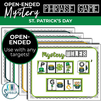 Open Ended Seasonal Tile Game: St. Patrick's Day Theme