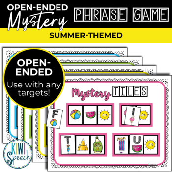 Open Ended Seasonal Tile Game: Summer Theme