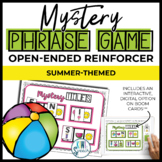 Open Ended Speech and Language Tile Game {Summer}
