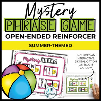 Open Ended Seasonal Tile Game: Summer Theme