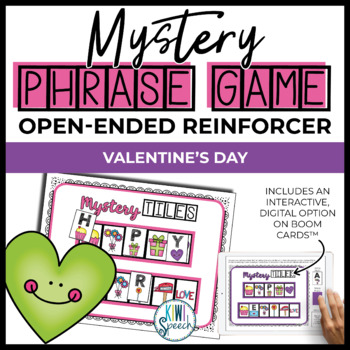 Open Ended Speech and Language Tile Game {Valentine's Day}
