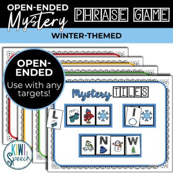 Open Ended Seasonal Tile Game: Winter Theme