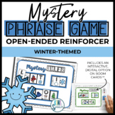 Open Ended Speech and Language Tile Game {Winter}