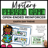 Open Ended Speech and Language Tile Game {Earth Day}