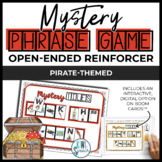 Open Ended Speech and Language Tile Game {Pirate Theme}