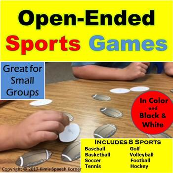 Open-Ended Sports Game for Small Groups