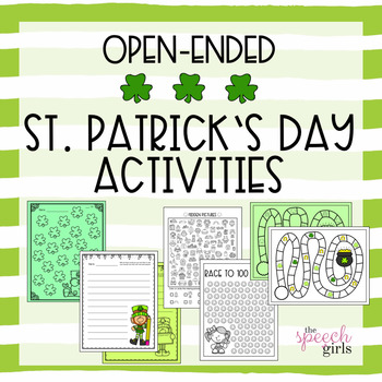 Open-Ended St. Patrick's Day Activities
