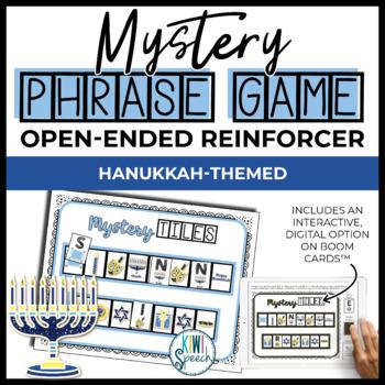 Open Ended Seasonal Tile Game: Hanukkah Theme