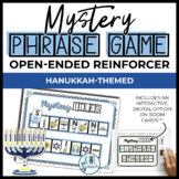 Open Ended Speech and Language Tile Game {Hanukkah}