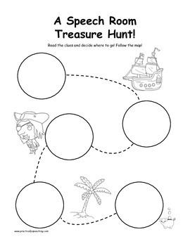 Open-Ended Treasure Hunt