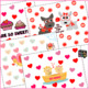 Valentine's Day Activity for Speech and Language {open ended for any skill}