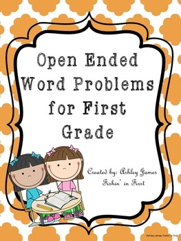 Open Ended Word Problems