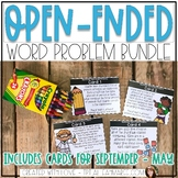 Open Ended Word Problems {GROWING BUNDLE}