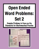 Open Ended Word Problems - Set 2: Complex, Multi-Step Chal