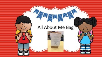 Open House About me Bag