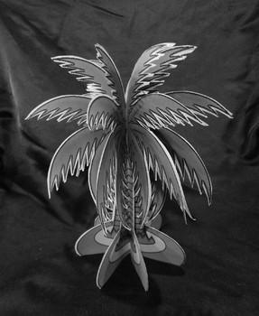 Open House Activities: 3D Palm Tree Craft Activity