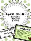 Open House Activities, Handouts, & More