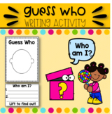 Open House Activity Guess Who EDITABLE