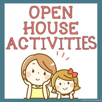 Open House Activity - Who Am I?