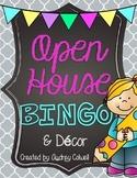 Open House BINGO & Decor