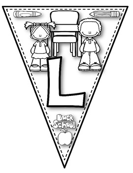 Open House Back to School Color-Your-Own Welcome Banner