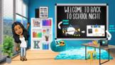 Open House/Back to School Night Bitmoji Classroom