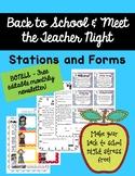 Back to School Night Activities - Meet the Teacher - Open House BONUS