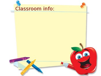 Open House/ Back to School PowerPoint