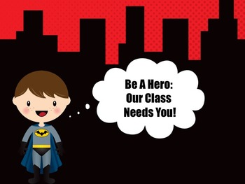 Open House: Be A Hero School Supplies