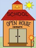 Open House Booklet in English for Kindergarten