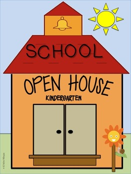 Open House Booklet in English for Kindergarten