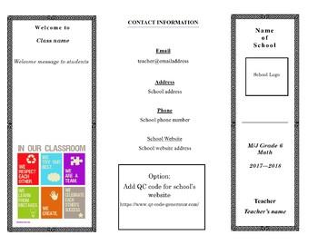 Open House Brochure-Syllabus