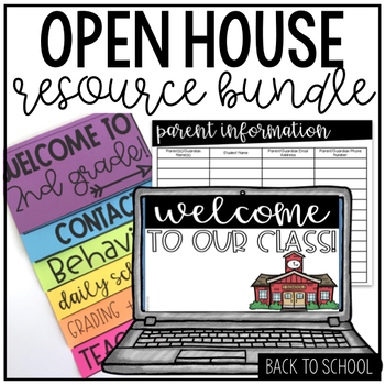 Open House Bundle | Back to School Night