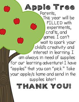 Open House - Classroom Donation Apple Tree