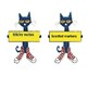 Open House Classroom Donation Display ( Pete the Cat)
