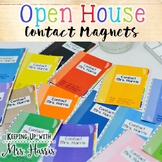 Open House Contact Magnets
