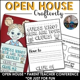 Open House Back to School Craftivity