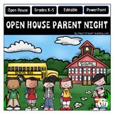 Open House PowerPoint - Meet the Teacher - Parent Night {Editable}