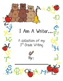 Open House Cute Writing Portfolio Cover