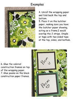 Open House: Display Idea for Mother and Father's Day Poetry