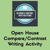 Open House ELA Activity