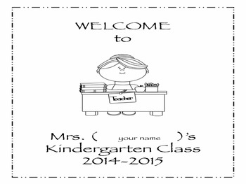 Open House {Editable Information-Forms-Handouts}