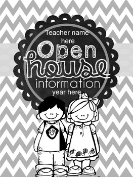 Open House Editable Newsletter