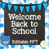 Owls Open House Editable PowerPoint PPT