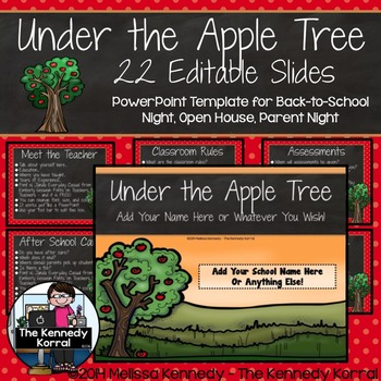 PPT Open House / Back-to-School: Apples